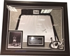 Muhammad Ali Signed Fight Trunks Framed