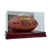 Deluxe Football Case wood base