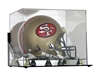 Deluxe Full Size Football Helmet case wall mountable