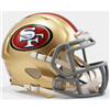 San Francisco 49ers Mini Speed Helmet