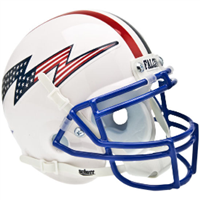Air Force Schutt Mini Helmet - Flag Bolt With Stripes