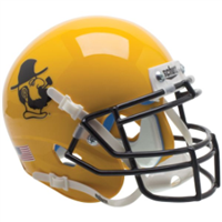 Appalachian State Schutt Mini Helmet - Yosef Yellow