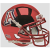 Arizona Schutt Mini Helmet - Red Chrome