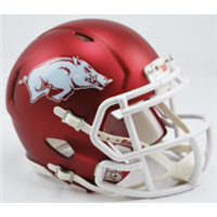 Arkansas Mini Speed Helmet - Red