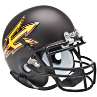 Arizona State Schutt Mini Helmet - Black Original Small Pitchfork