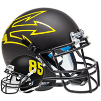 Arizona State Schutt Mini Helmet - Black Large Pitchfork