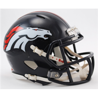 Denver Broncos Mini Speed Helmet