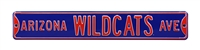 Arizona Wildcats Street Sign