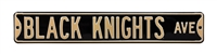Army Black Knights Street Sign