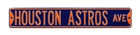 Houston Astros Street Sign