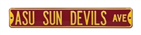 Arizona State Sun Devils Street Sign