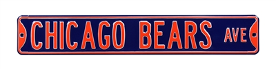 Chicago Bears Street Sign
