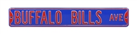 Buffalo Bills Street Sign
