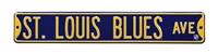 St. Louis Blues Street Sign