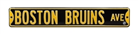 Boston Bruins Street Sign