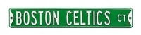 Boston Celtics Street Sign