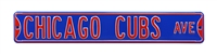 Chicago Cubs Street Sign