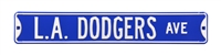 Los Angeles Dodgers Street Sign