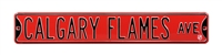 Calgary Flames Street Sign