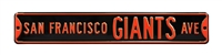 San Francisco Giants Street Sign