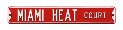Miami Heat Street Sign