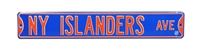 New York Islanders Street Sign
