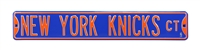 New York Knicks Street Sign