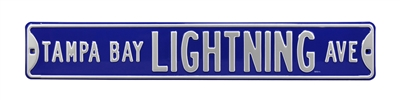 Tampa Bay Lightning Street Sign