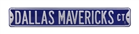 Dallas Mavericks Street Sign