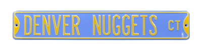 Denver Nuggets Street Sign