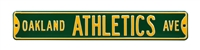 Oakland Athletics Street Sign