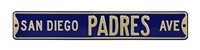 San Diego Padres Street Sign