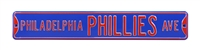 Philadelphia Phillies Street Sign