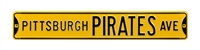 Pittsburgh Pirates Street Sign
