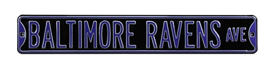Baltimore Ravens Street Sign