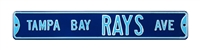 Tampa Bay Rays Street Sign