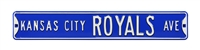Kansas City Royals Street Sign