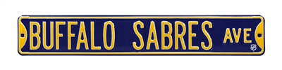 Buffalo Sabres Street Sign