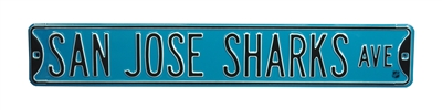 San Jose Sharks Street Sign