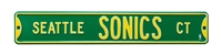 Seattle Super Sonics Street Sign