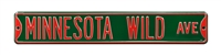 Minnesota Wild Street Sign