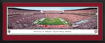 Alabama Crimson Tide - Bryant Denny Stadium Panoramic (End Zone)