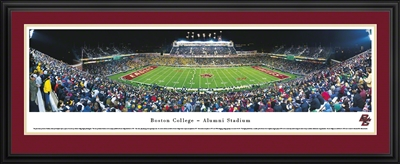 Boston College Eagles - Alumni Stadium Panoramic (50 yard line)