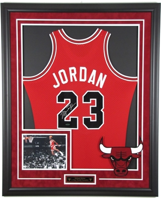 Custom Jersey Framing w/ Logo & Photo