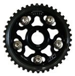AEM Tru-Time Adjustable Cam Gear for the 1992-2001 Honda Prelude Base, VTEC, and Type-SH with the H22 motor in Black