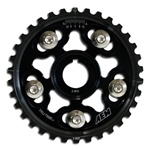 AEM Tru-Time Adjustable Cam Gear for the 1999-2000 Honda Civic Si with the B16 motor in Black
