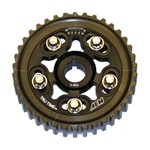 AEM Tru-Time Adjustable Cam Gear for the 1996-1997 Honda Del Sol with the D16 motor in Black