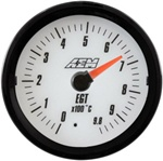 AEM Analog EGT Display Gauge (0°C to 980°C) - White Face