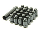 Muteki Closed-Ended Lightweight Lug Nuts in Black - 12x1.25mm