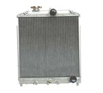 Fluidyne Direct Fit Aluminum Radiator 1988-1991 Honda CRX Half-sized
